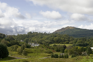 Beautiful Scenery around Barguillean Farm, Taynuilt, Argyll, West Scotland
